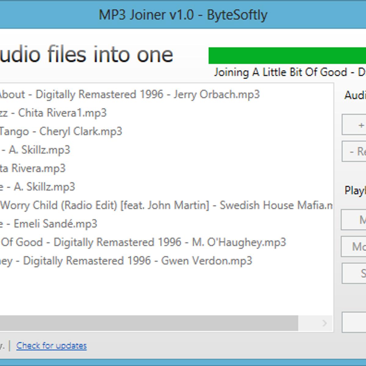 MP3 Joiner Alternatives and Similar Software - AlternativeTo.net