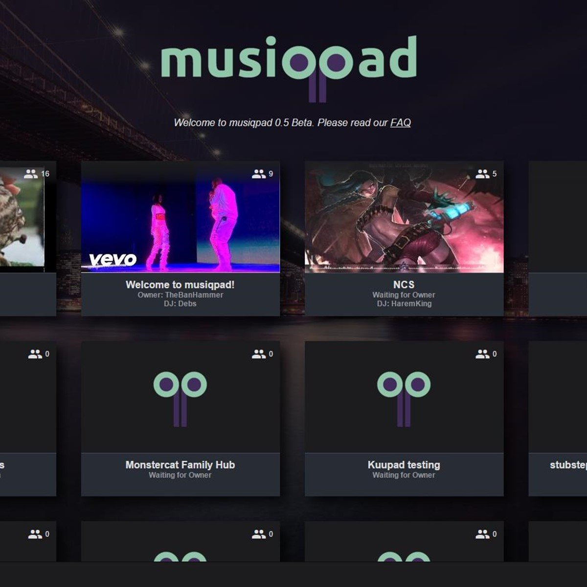 musiqpad Alternatives and Similar Websites and Apps