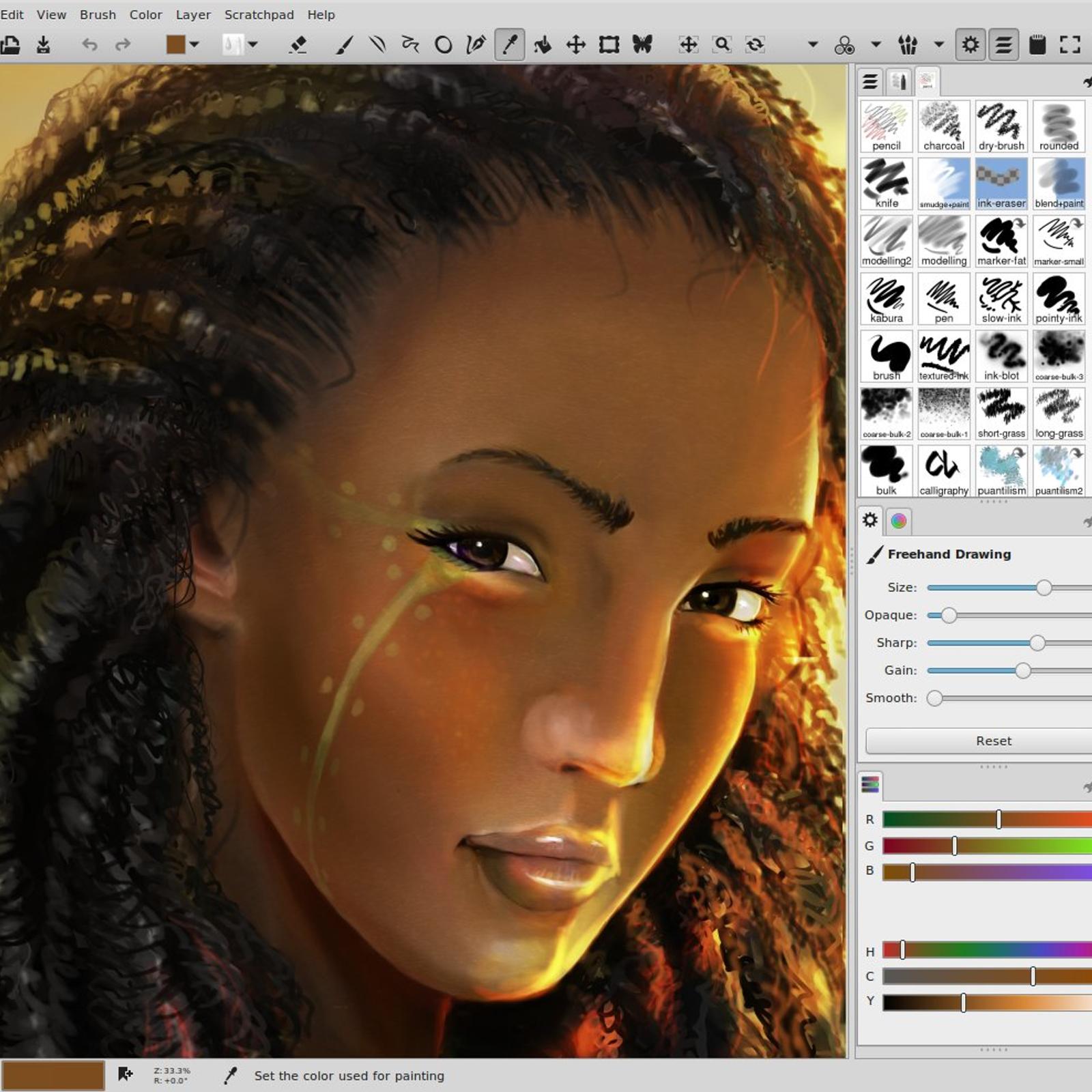 100 Mybrushes Mac Digital Drawing Tool Mypaint Alternatives And Similar Software