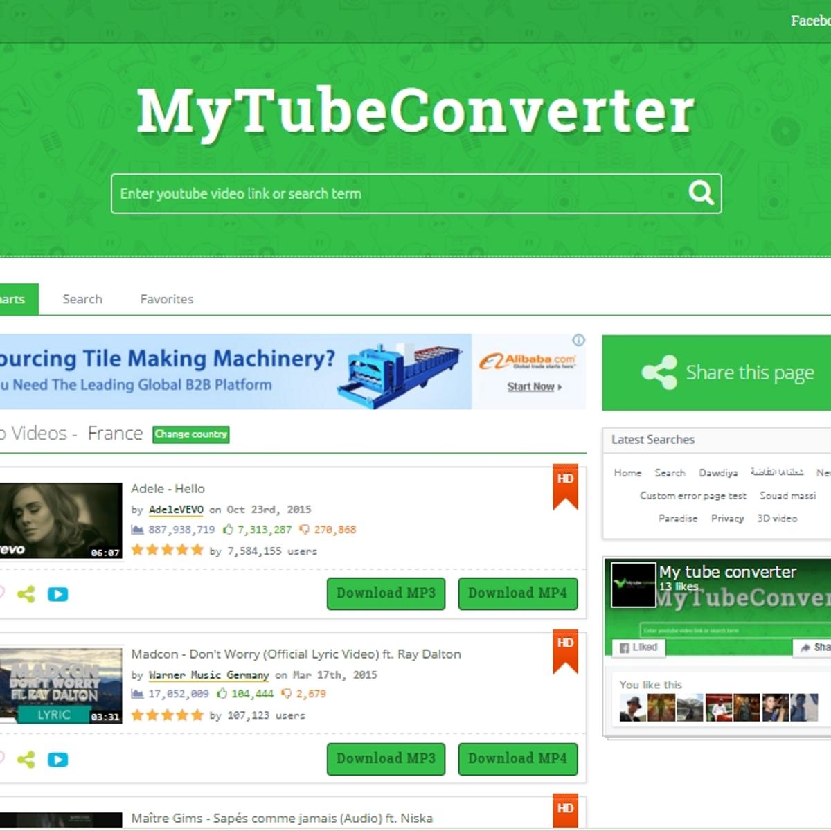 MyTubeConverter Alternatives and Similar Websites and Apps