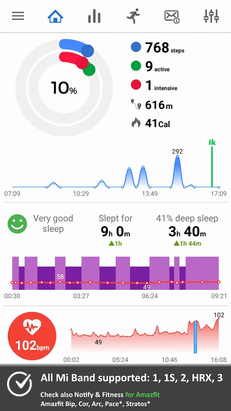 Notify & Fitness for Mi Band Alternatives and Similar