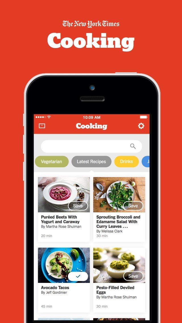 NYT Cooking App