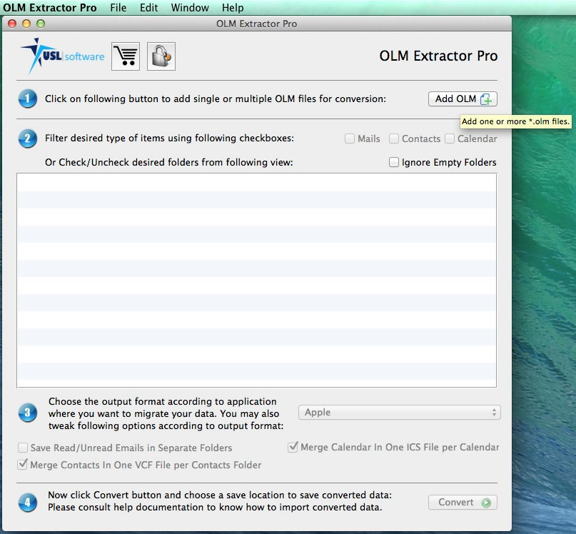 USL OLM Extractor Pro Alternatives and Similar Software