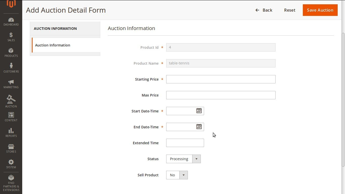 auction system Download online auction system for free online auction management system is a project is developed in php and mysql with the aim to develope a online auction system where administrator of the site can login and add auction items so user can search and view details of auction items with images, address and auction date / time.