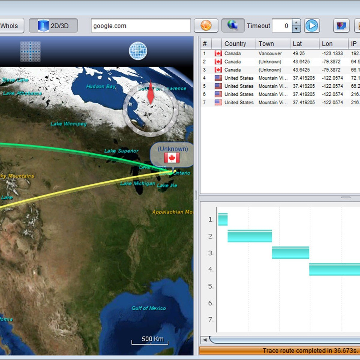 Open Visual Traceroute Alternatives and Similar Software