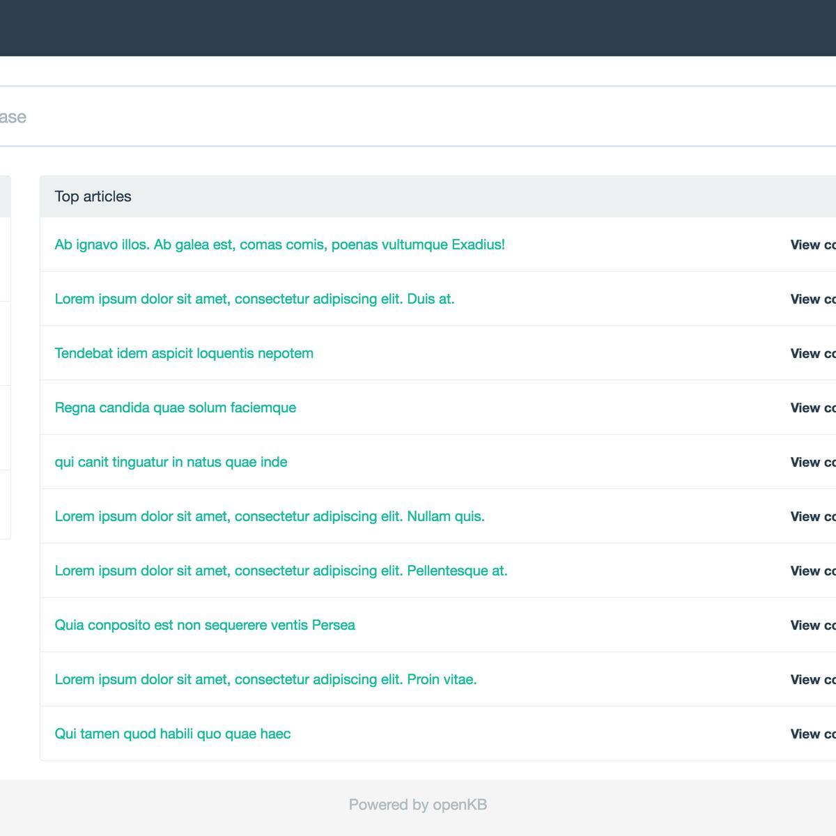 openKB Alternatives and Similar Software - AlternativeTo net
