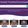 YouTube thumbnail downloader icon