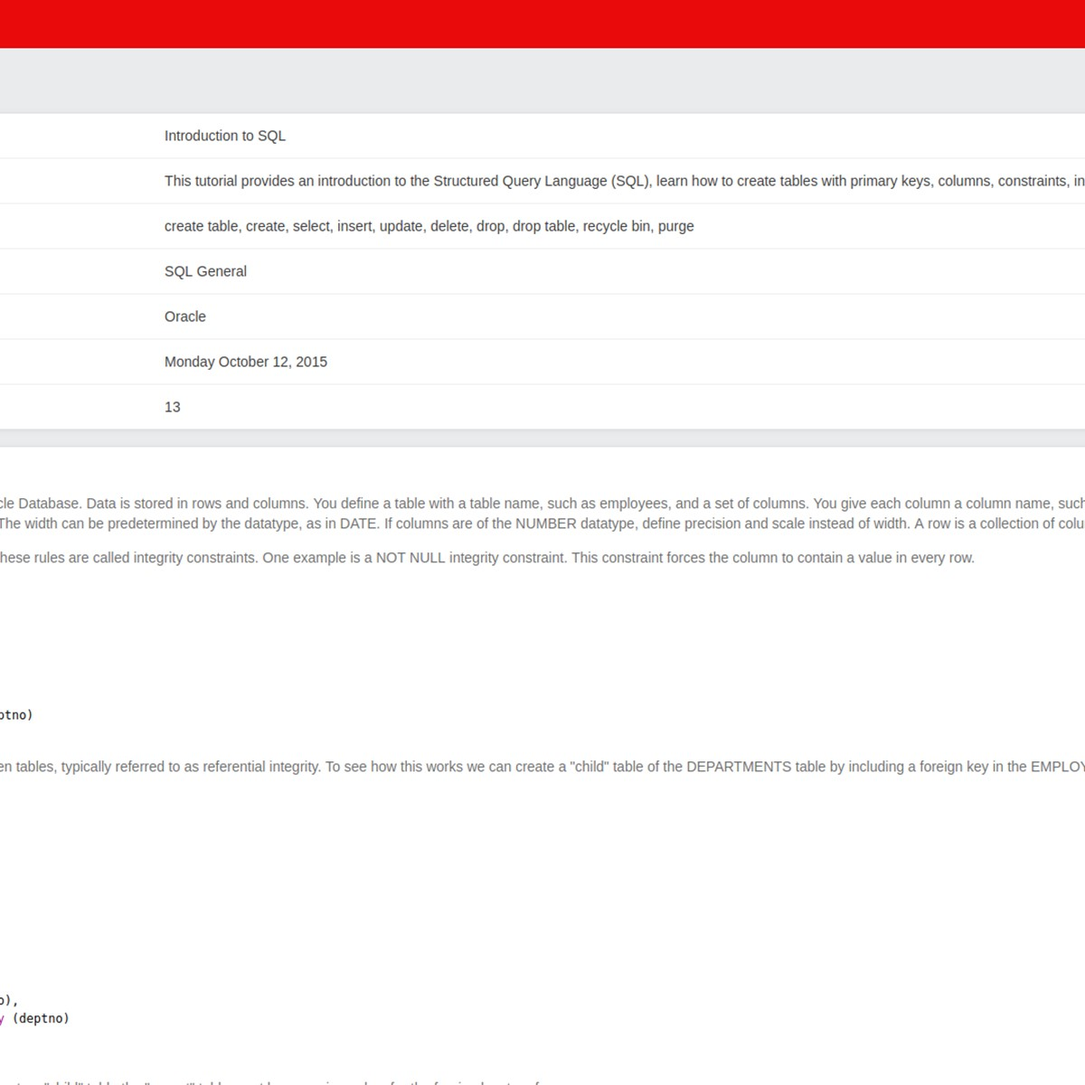 Oracle Live SQL Alternatives and Similar Websites and Apps