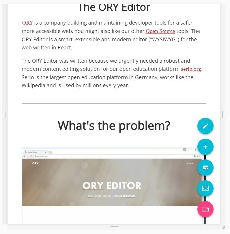 ORY Editor Alternatives and Similar Websites and Apps