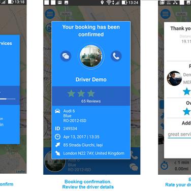 Smart2Car - Cloud based Booking and Dispatch platform