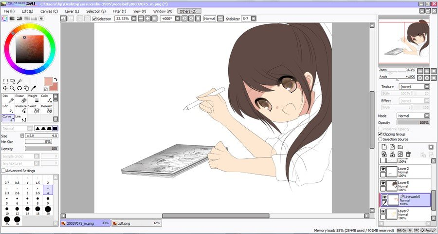 sai paint tool download windows 10