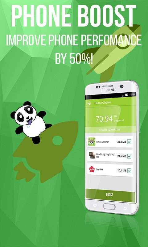 Panda Cleaner - Clean & Boost Alternatives and Similar Apps