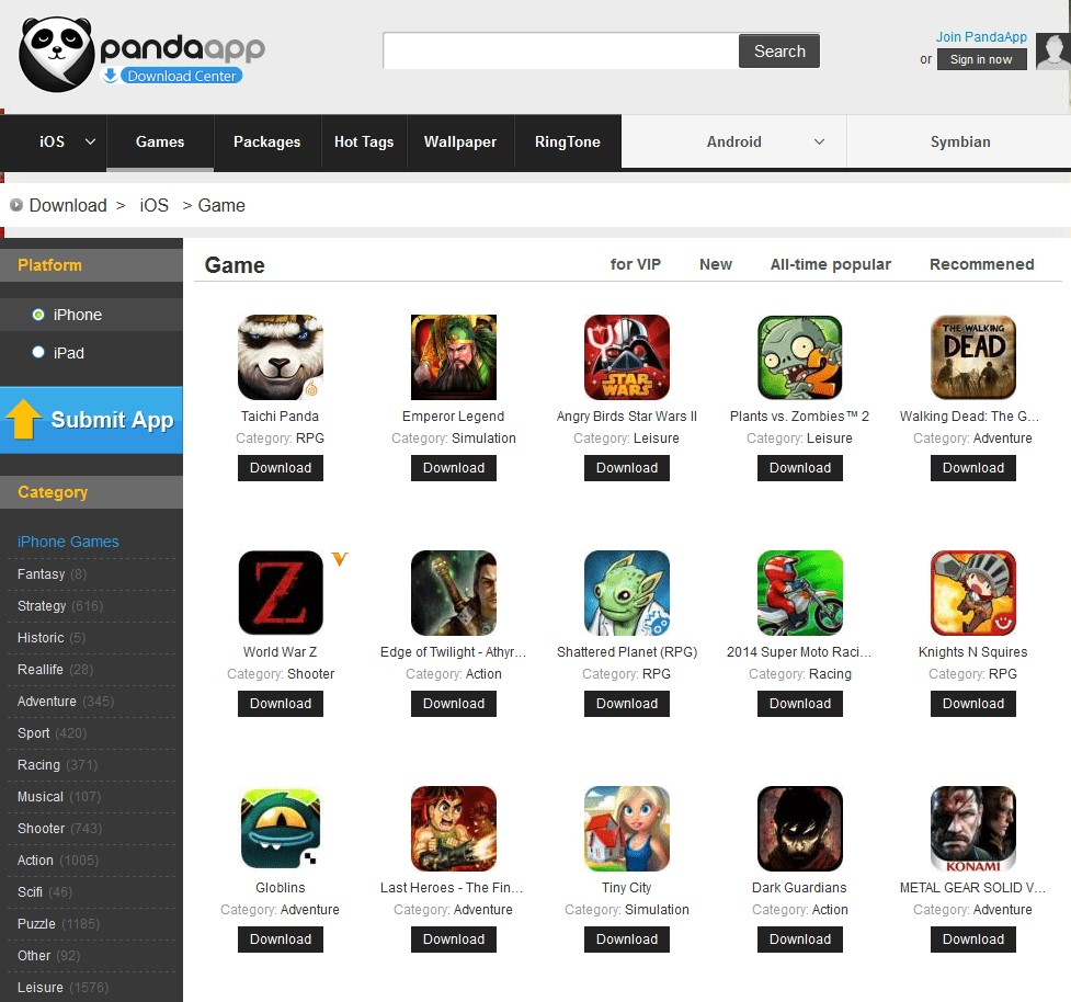 PandaApp com Alternatives and Similar Websites and Apps