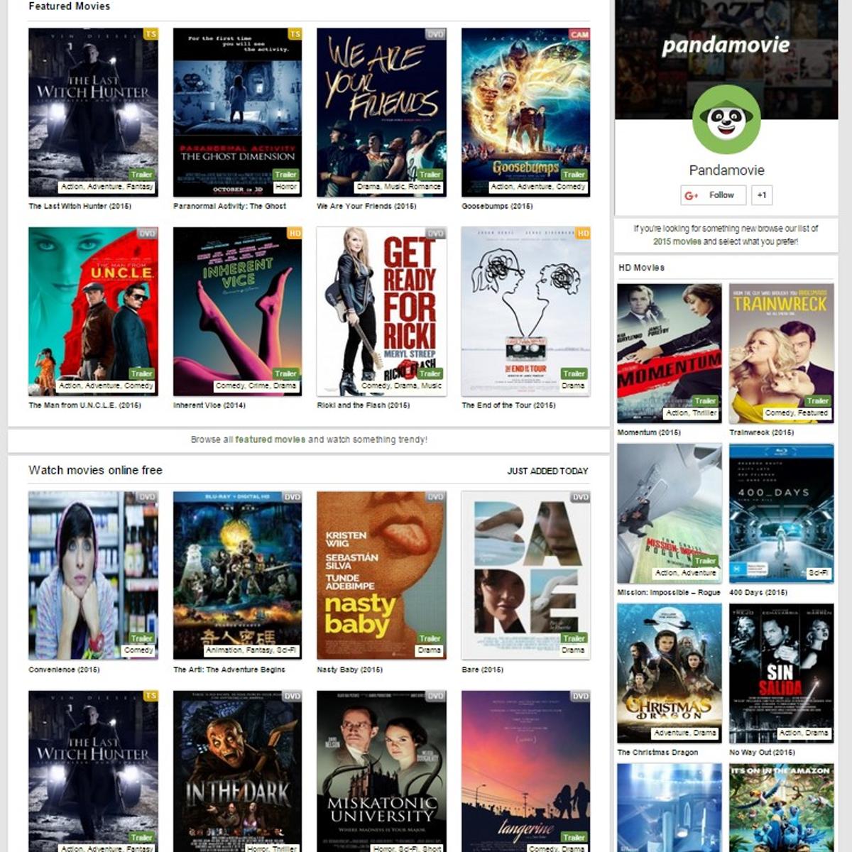 PandaMovie.Net Alternatives and Similar Websites and Apps