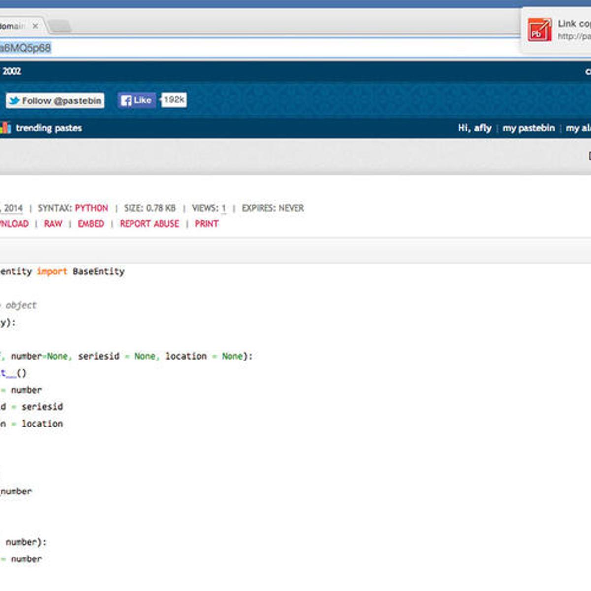 Pastebin It! Alternatives and Similar Software - AlternativeTo net