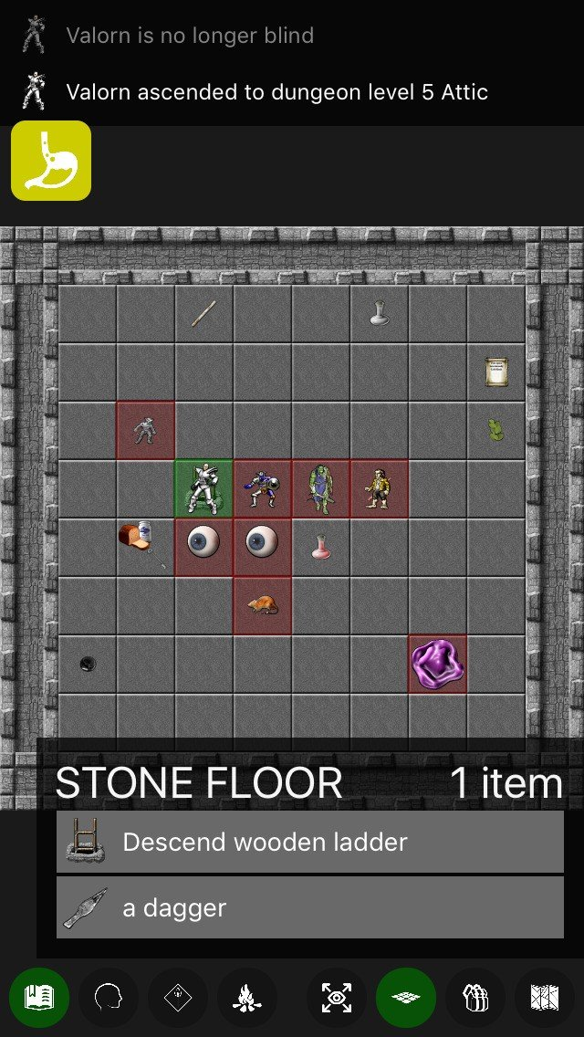 Nethack like games for android