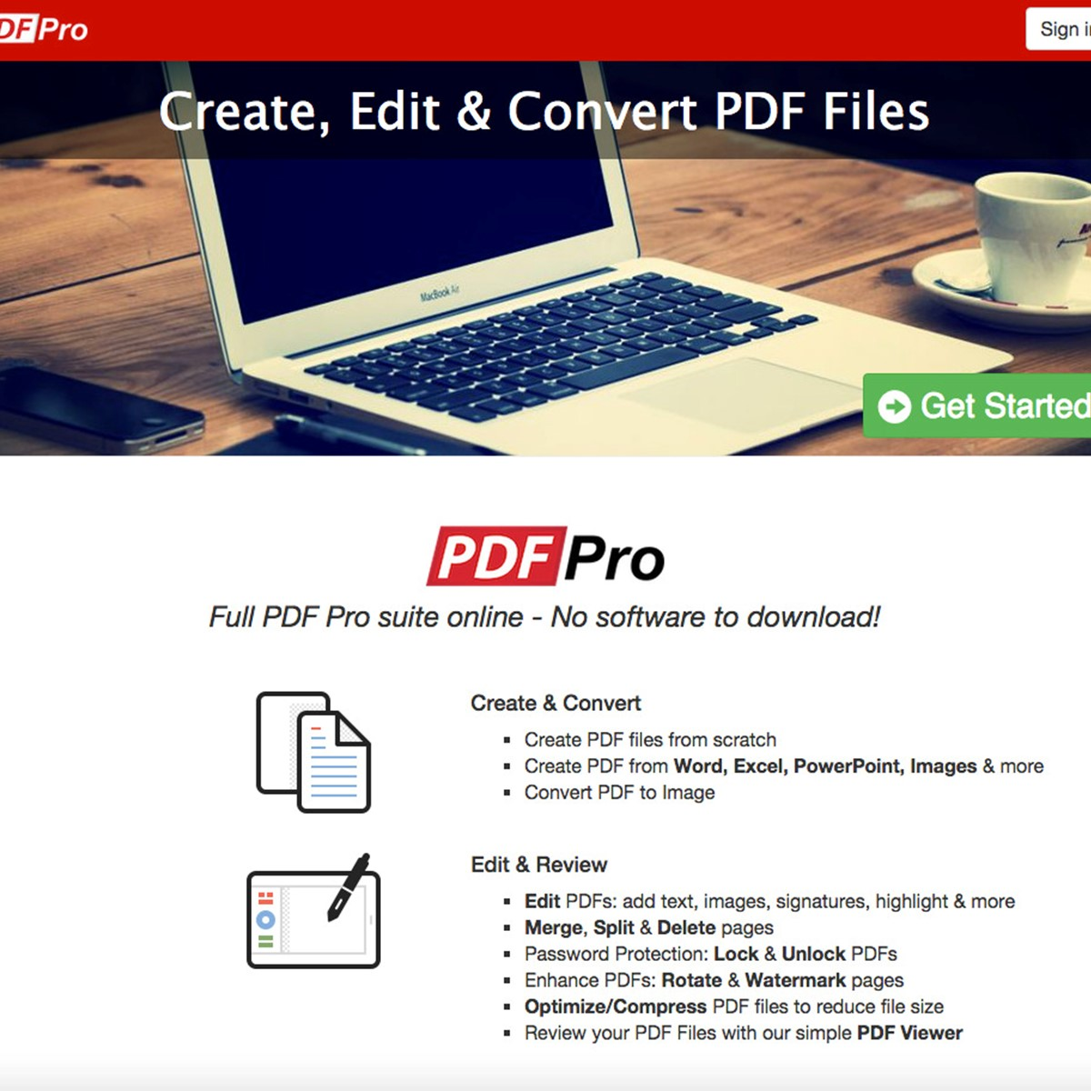 PDF Pro Alternatives and Similar Websites and Apps