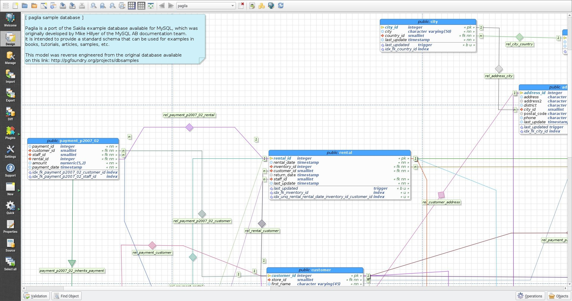 Er diagram tool open source smartdraw diagrams Open source diagram tool