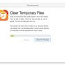 Clear Temporary Files icon