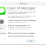 Clear Old Messages (instructions) icon