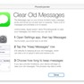 Clear Old Messages (instructions)