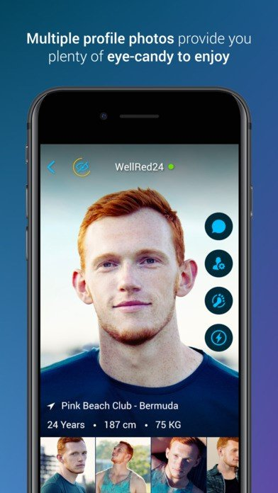 Planetromeo mobile app for android