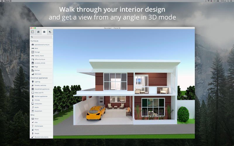 Planner 5d alternatives and similar software for Home style interior design apk