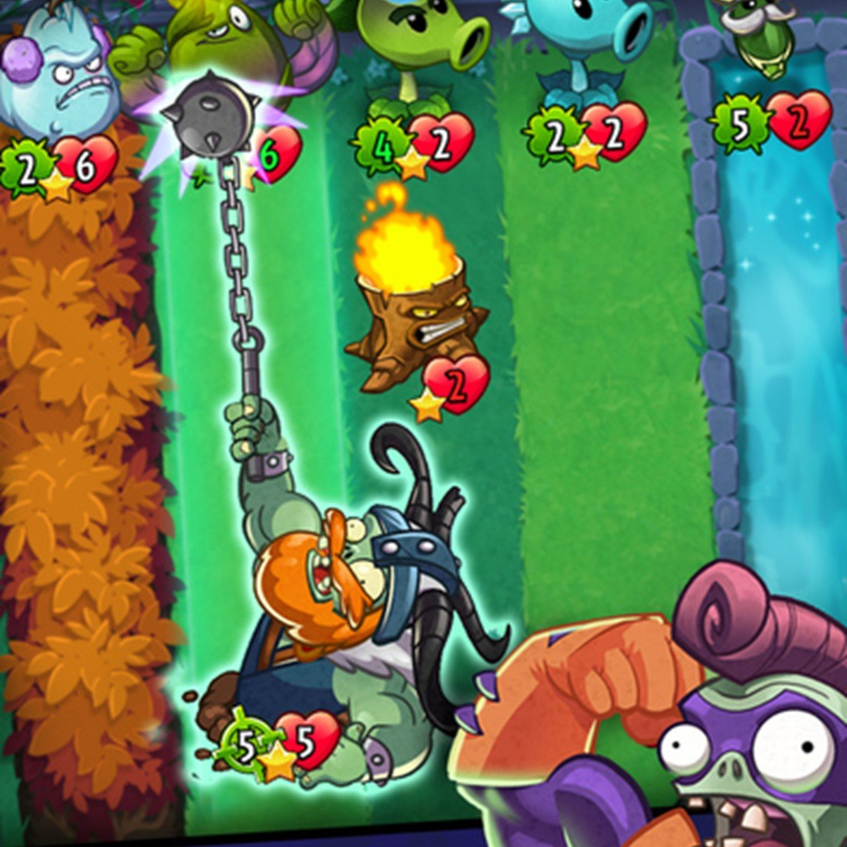 Plants vs  Zombies™ Heroes Alternatives and Similar Games