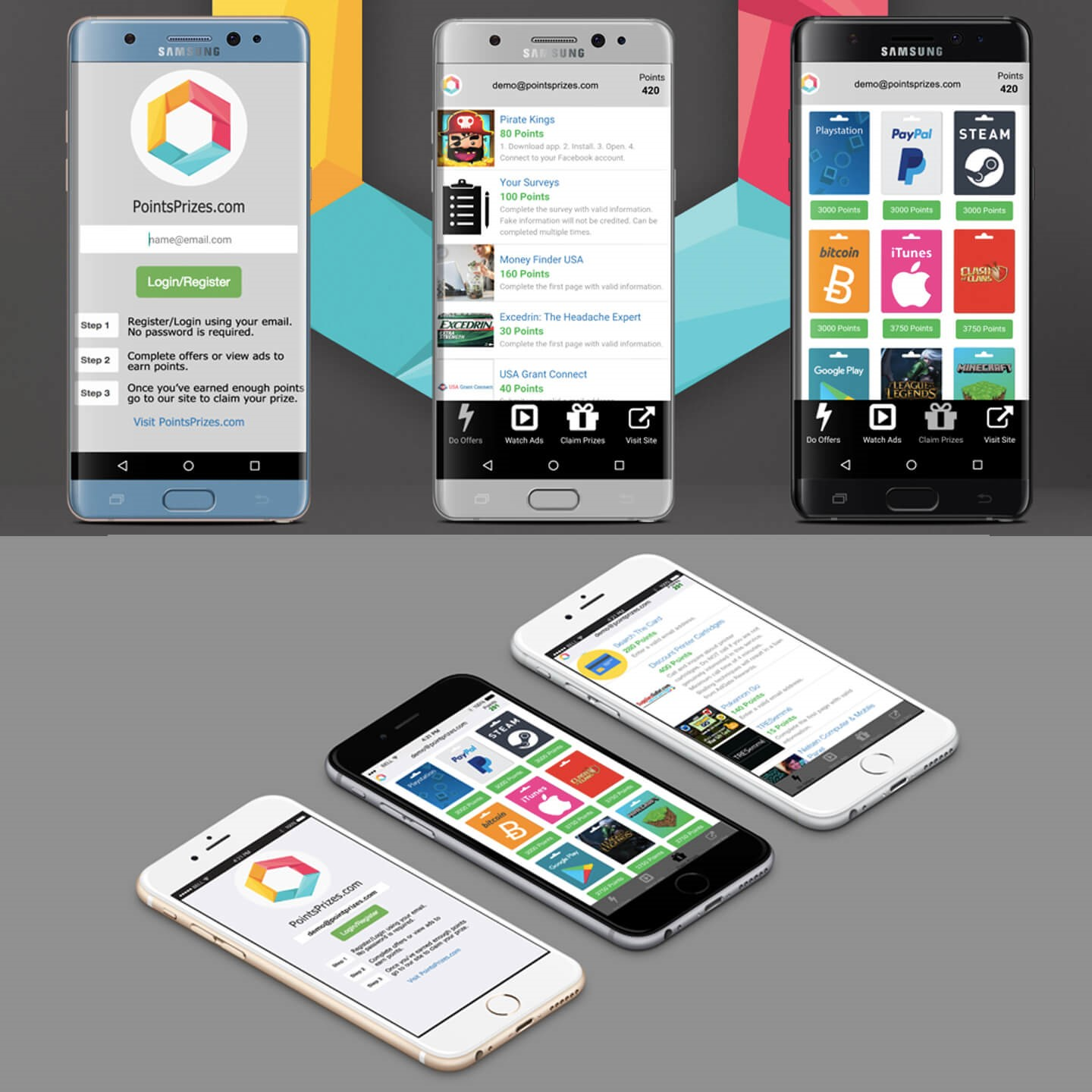PointsPrizes Alternatives and Similar Apps and Websites