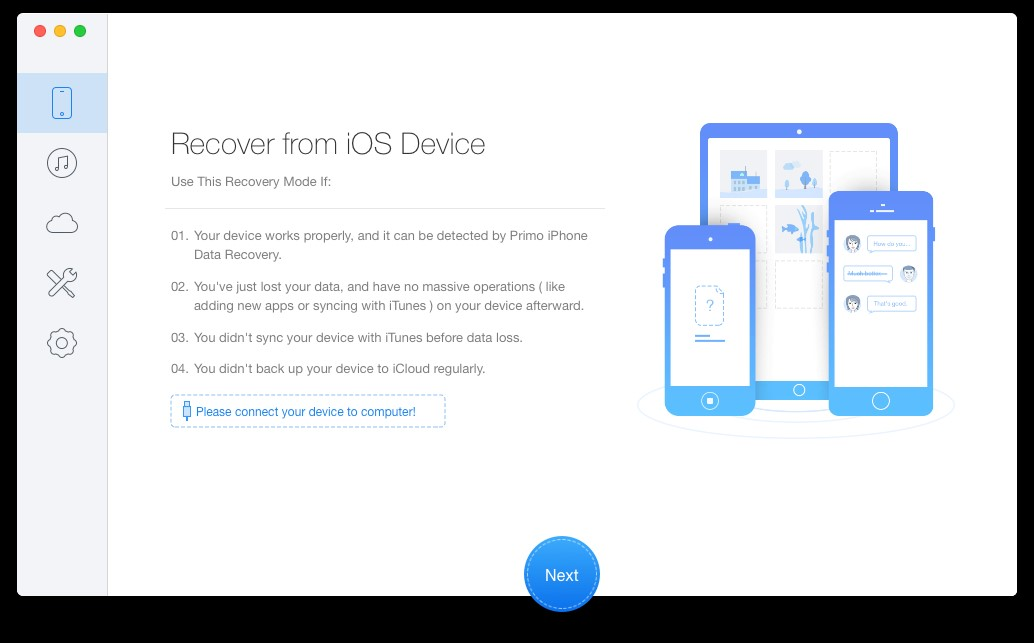 Primo iPhone Data Recovery Alternatives and Similar Software