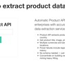 Test Drive Product API