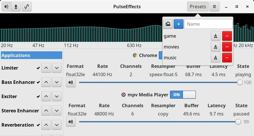 PulseEffects Alternatives and Similar Software