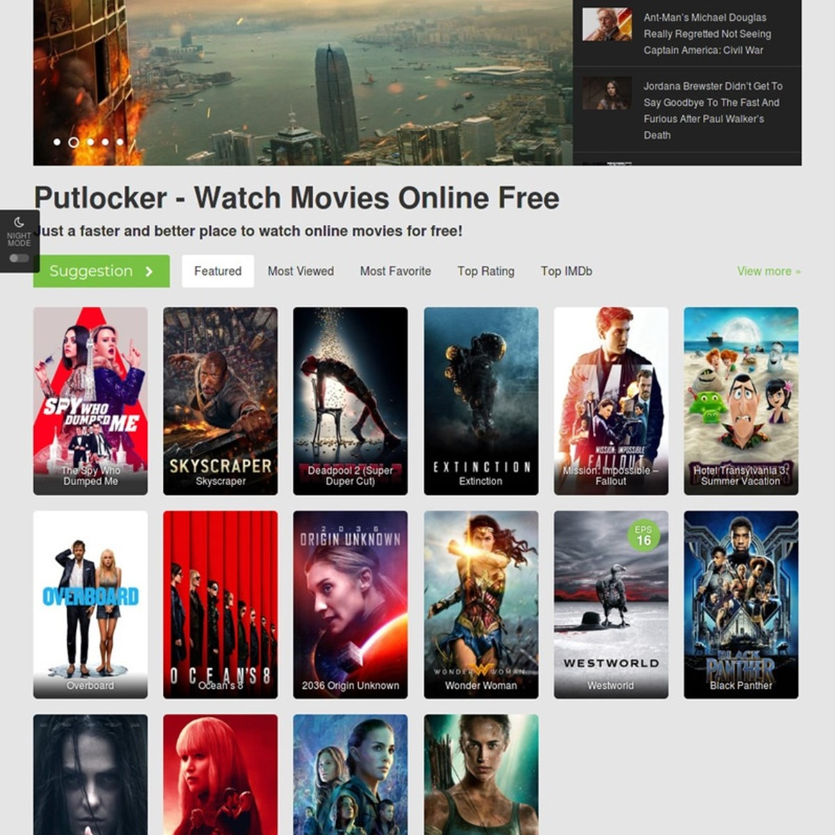1Putlocker io Alternatives and Similar Websites and Apps