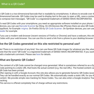 QR Code Generator Alternatives and Similar Websites and Apps