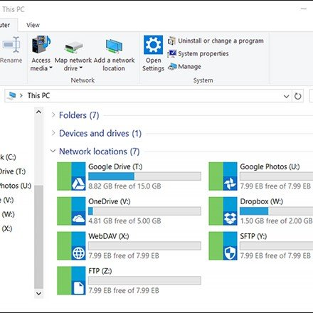 RaiDrive File Explorer