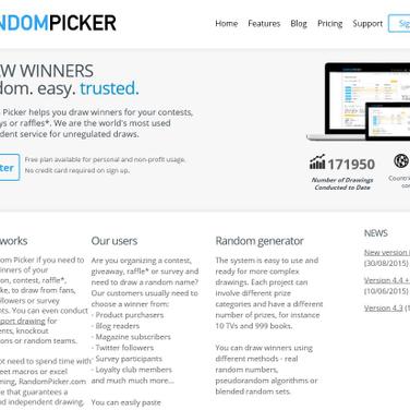 RandomPicker com Alternatives and Similar Websites and Apps