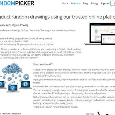 RandomPicker com Alternatives and Similar Websites and Apps