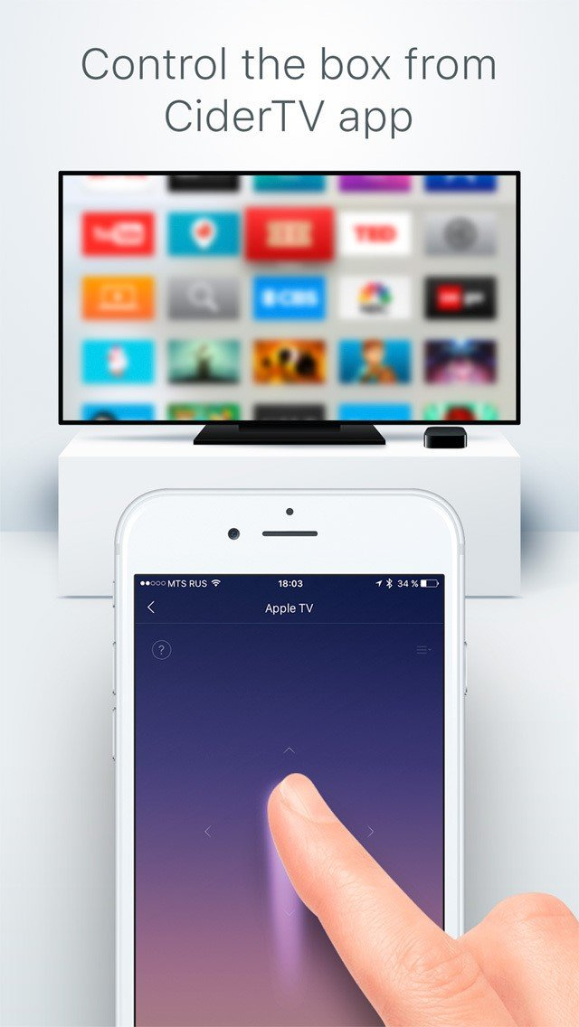 Remote for Apple TV - CiderTV Alternatives and Similar Software