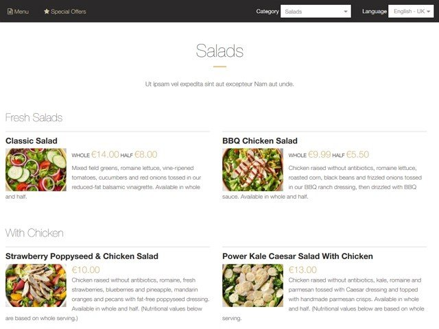 Its Possible To Update The Information On Restaurant Menu Maker Or Report It As Discontinued Duplicated Spam