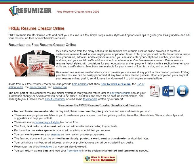 easy online resume creator resume maker resume creator write a better resume get a better job