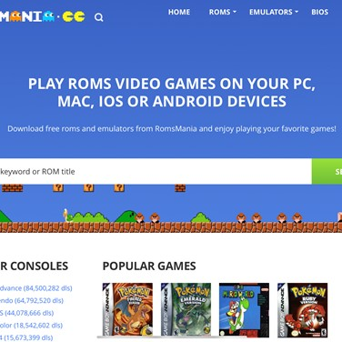 Roms Mania Alternatives and Similar Websites and Apps