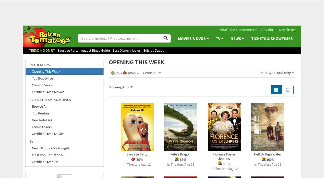 Rotten tomatoes alternatives and similar websites and apps its possible to update the information on rotten tomatoes or report it as discontinued duplicated or spam ccuart Gallery