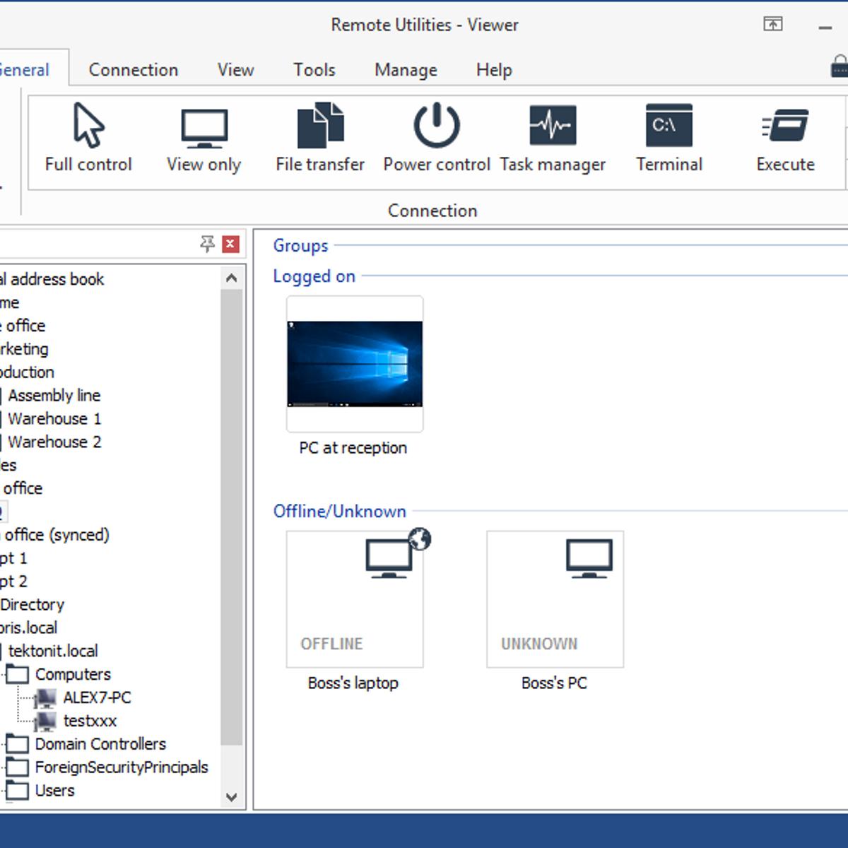 Remote Utilities Alternatives and Similar Software - AlternativeTo net