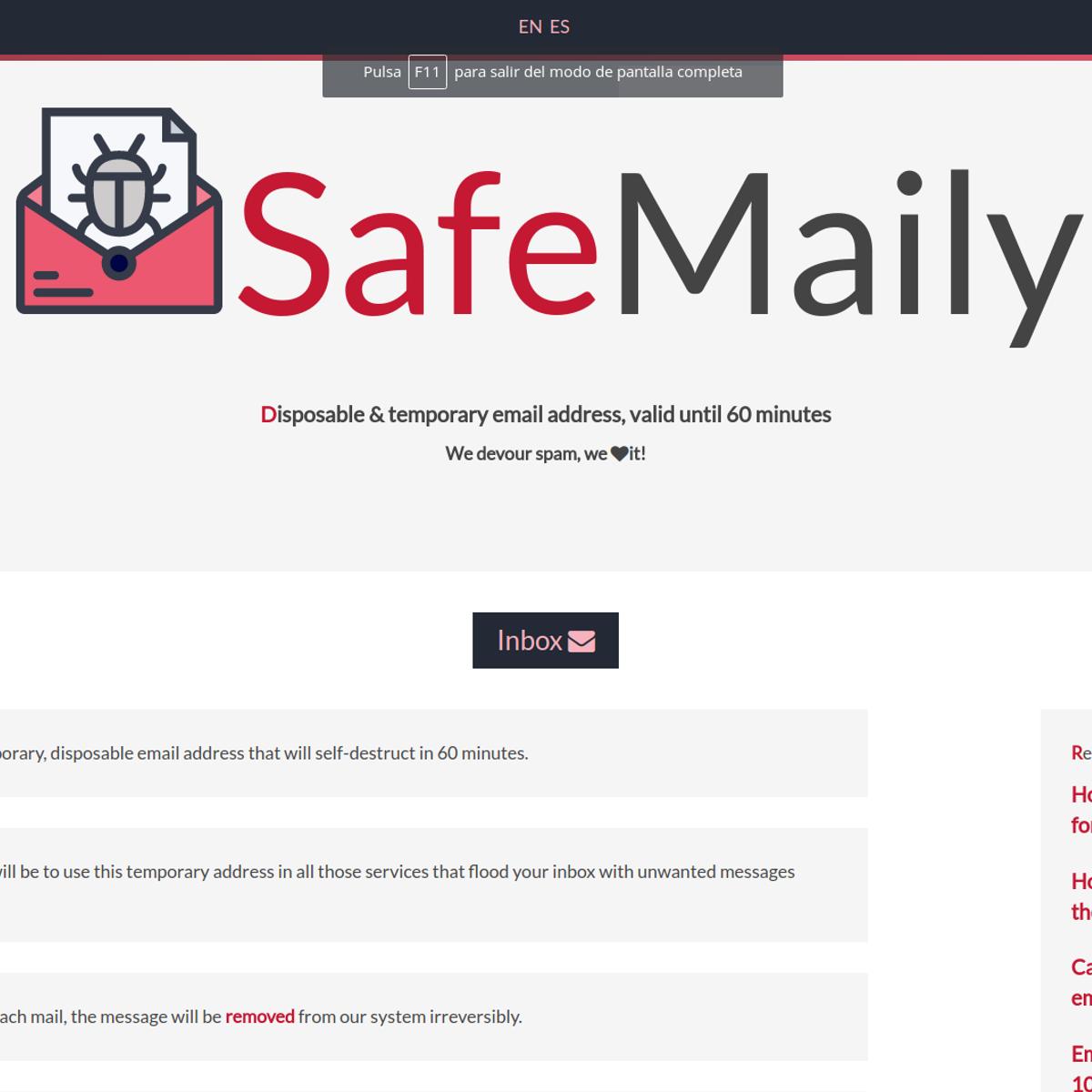 SafeMaily Alternatives and Similar Websites and Apps - AlternativeTo net
