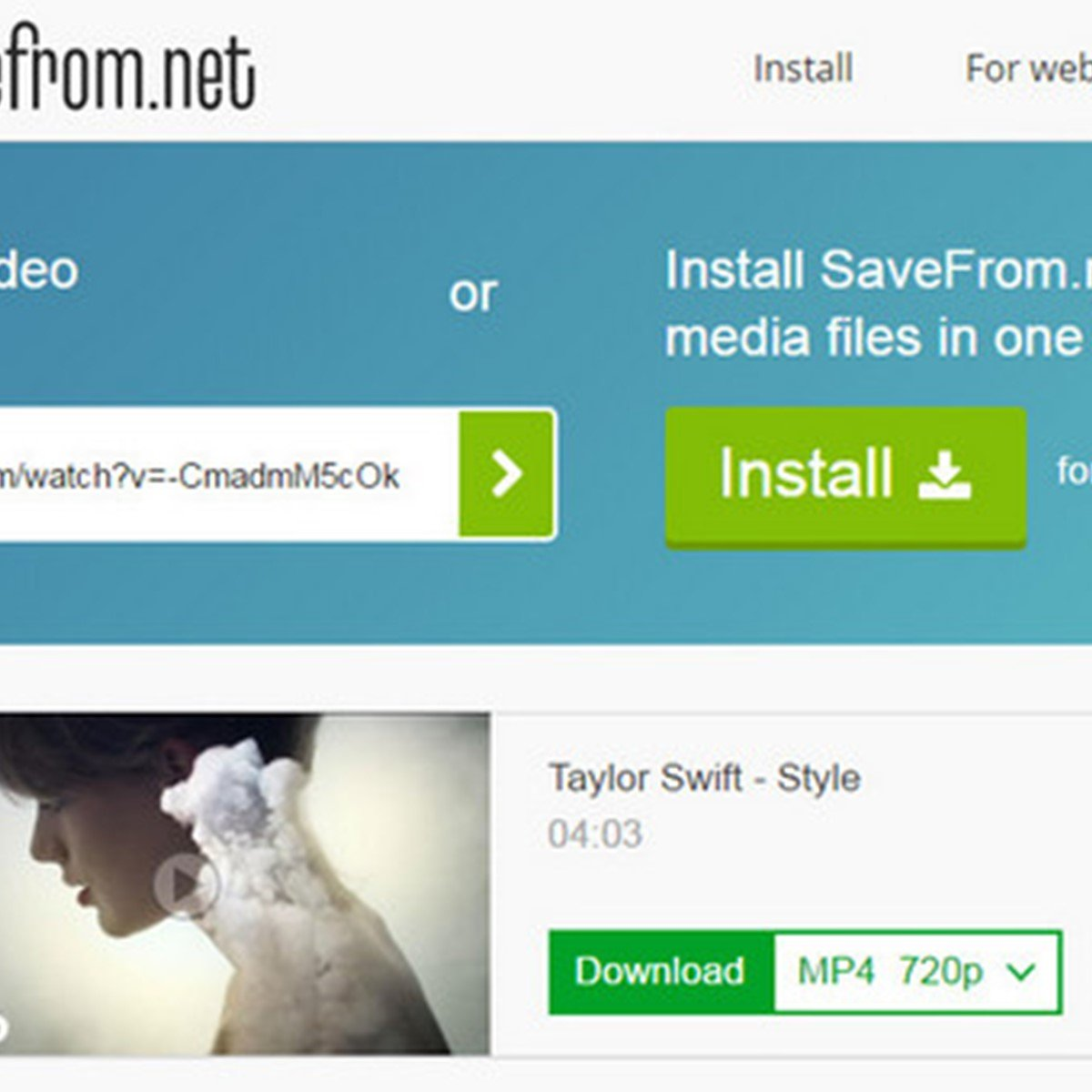 SaveFrom net Reviews, Features, and Download links - AlternativeTo