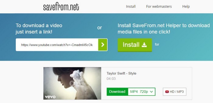 SaveFrom net Reviews, Features, and Download links