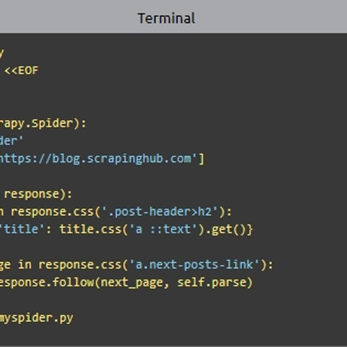 Scrapy Alternatives and Similar Software - AlternativeTo net