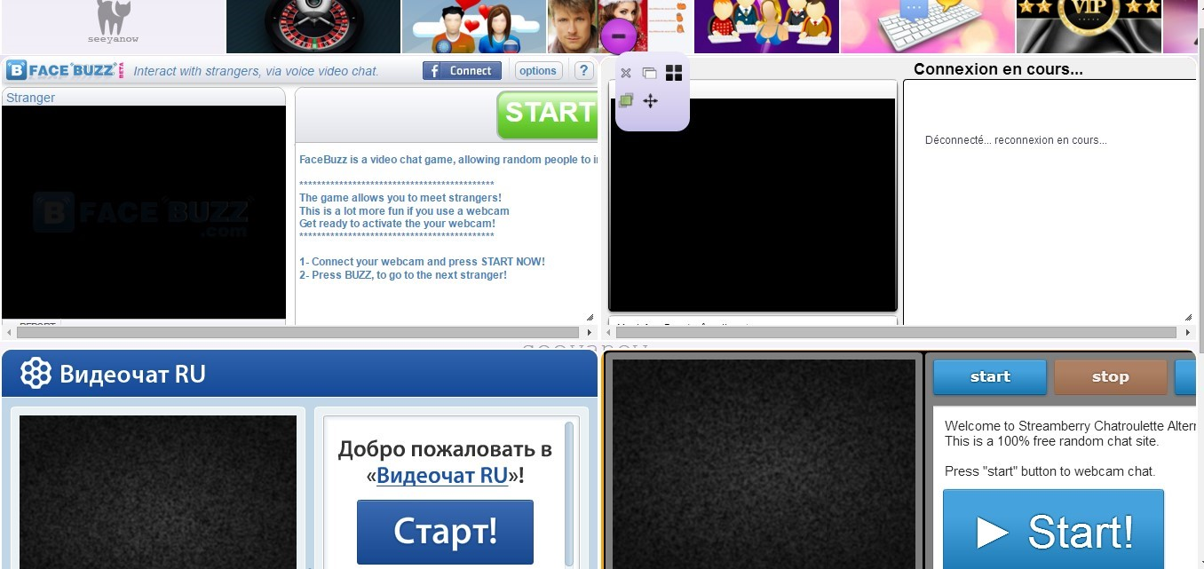 chat with people online now