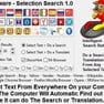 Selection Search Software icon