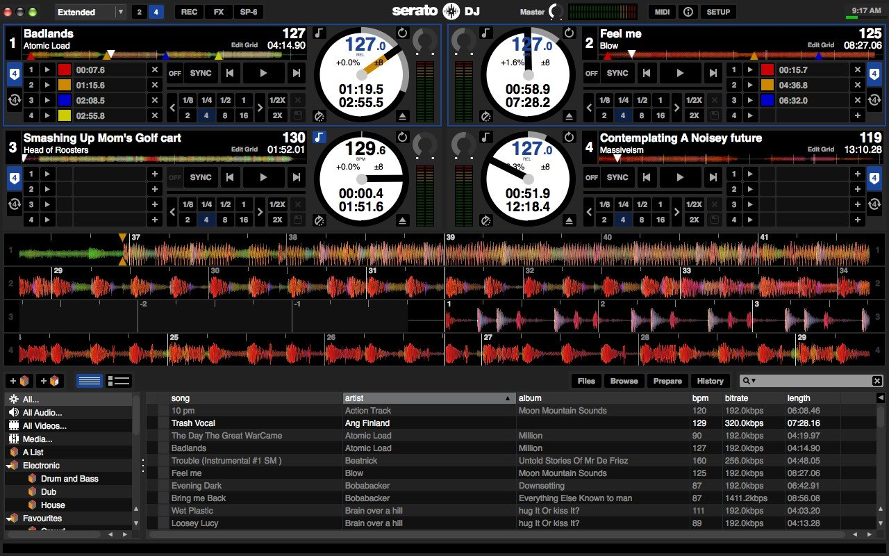 serato dj app for android